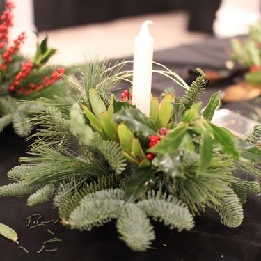 Hazlo tú mismo: Claves para hacer un centro de Navidad para decorar la mesa de Nochebuena