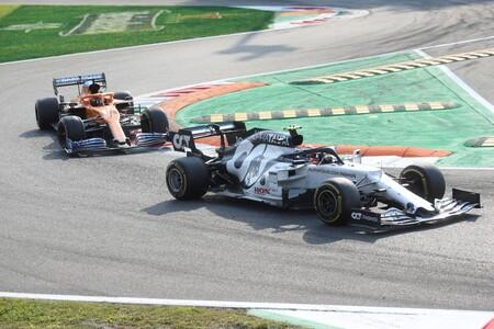 Gasly Sainz Monza F1 2020