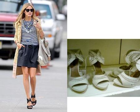 Olivia Palermo adora comprar en Zara