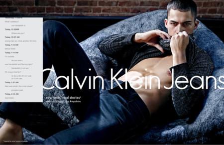 Calvin Klein Jeans eleva el glamour del sexting