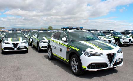 La Guardia Civil sigue estrenando monturas: 97 Alfa Romeo Stelvio de 200 CV se suman a sus filas