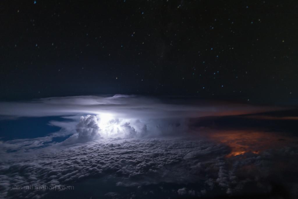 Santiago Borja Fotos Tormentas Desde Avion 6