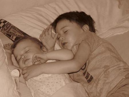 La foto de tu bebé: Durmiendo juntos
