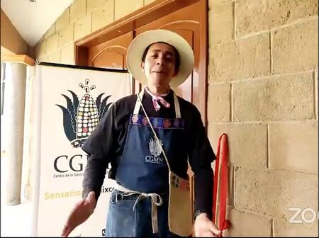 Roberto Buccio Centro Gastronomia Mexicana Nixcomil