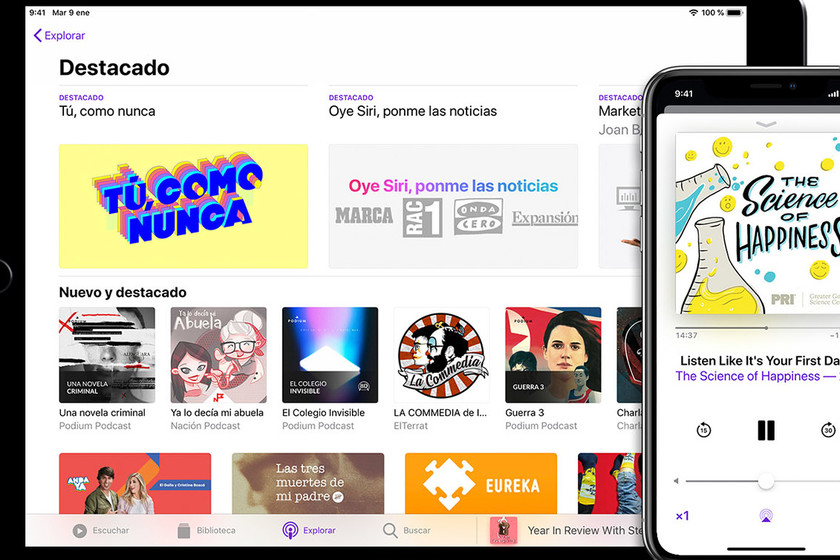 Apple podría producir programas exclusivos para Apple Podcasts