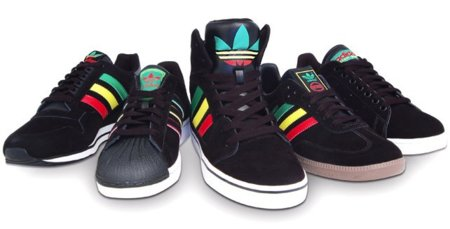 Adidas se vuelve reggae