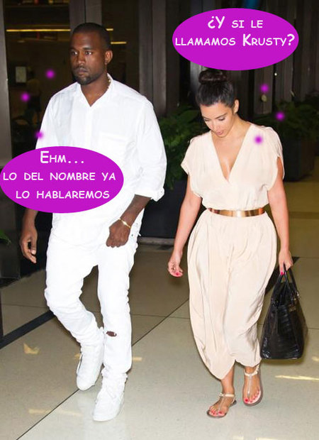"""Kim Kardashian y Kanye West: otra """"k"""" más en nuestra vida no, por favor"""
