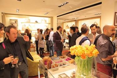 Inauguración de la tienda Tod's en Madrid