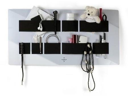 Organizador de pared para el dormitorio