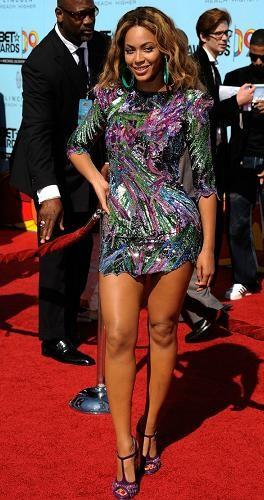 Beyoncé y Tyra Banks en los BET Awards