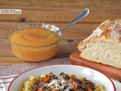 Ghackets und Hörnli o pasta con salsa de carne, queso y manzana: receta tradicional suiza