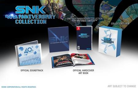 SNK celebrará su 40º aniversario en Switch con un recopilatorio de tirada limitada. Estos son los juegos confirmados