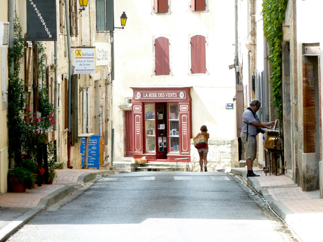 Montolieu pueblo del libro Francia