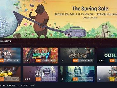 GOG reduce el precio de más de 500 juegos con motivo de sus rebajas de primavera