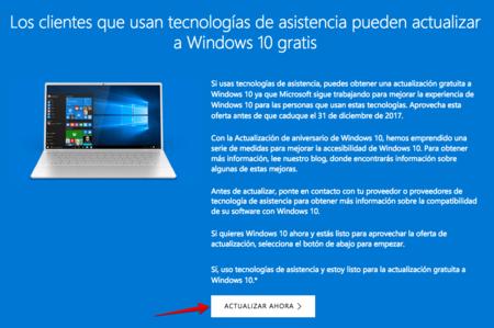 Actualizacion A Windows 10 Para Usuarios De Tecnologias De Asistencia 2017 12 27 15 09 37