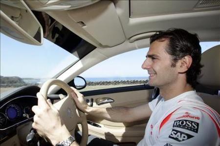 Pedro de la Rosa se acerca, se aleja, de Force India