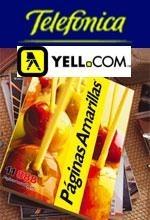 Telefonica, Páginas Amarillas & Yell