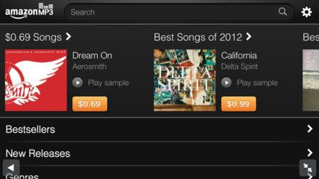 Amazon lanza una versión optimizada para iPhone y iPod touch de su tienda de música, David Bowie arrasa en la iTunes Store y la revista RollingStone se dejar caer por el iPad