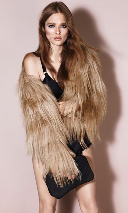 Catálogo TopShop fiesta Invierno 2011: la mujer de las pieles, del dorado y del cuero