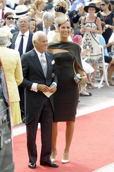 Giorgio Armani de la mano de su sobrina