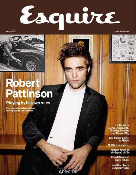 Robert Pattinson Covers Gq France Esquire Uk 2