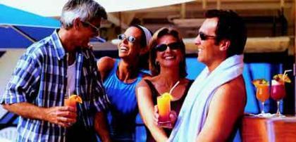 ¿Cuánto se gasta en bebidas extra en un crucero?