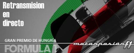 GP de Hungría F1 2011: retransmisión LIVE