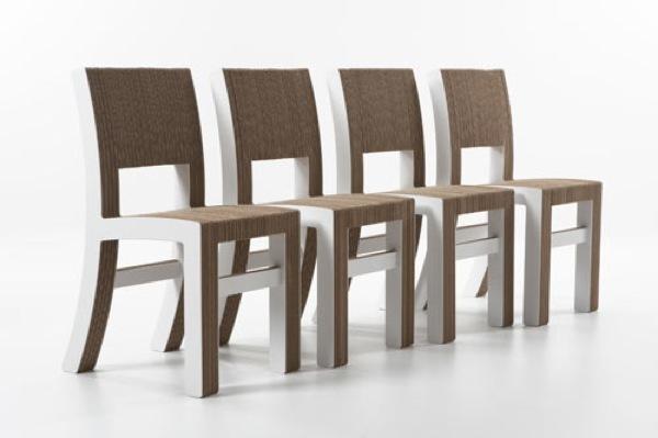 Foto de Interesante colección de muebles de cartón de Kubedesign (3/6)