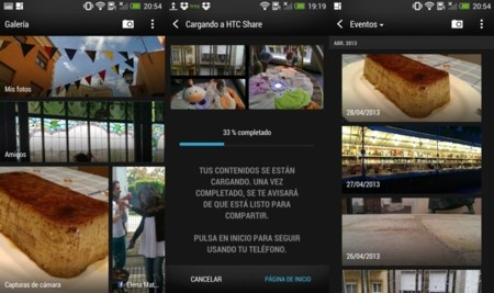 Interfaz HTC One