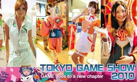 Las chicas del Tokyo Game Show 2010 [TGS 2010]