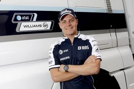 Valtteri Bottas confirmado como piloto de pruebas de Williams F1