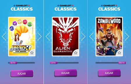 Gameloft Classics: 30 juegos retro de los móviles de antaño, gratis y sin anuncios para Android