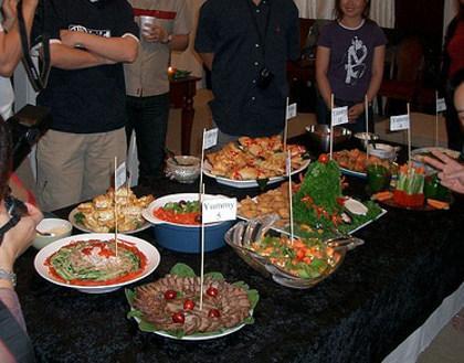 variedad en la comida