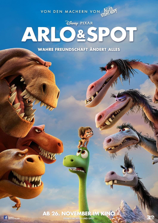 Nuevos carteles de 'El viaje de Arlo'