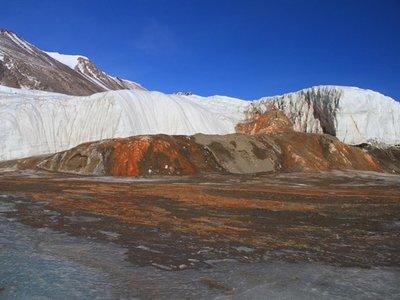 ¿Qué son las 'cataratas de sangre' de la Antártida?