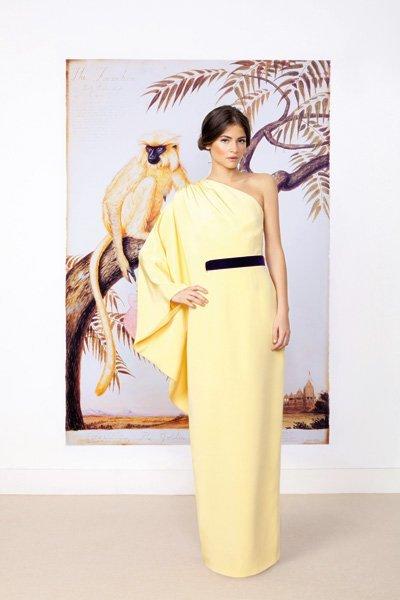 vestidos de fiesta inspirados en Grecia