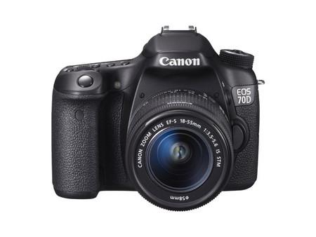 Canon EOS 70D, nueva réflex de gama media que estrena sistema de autofocus
