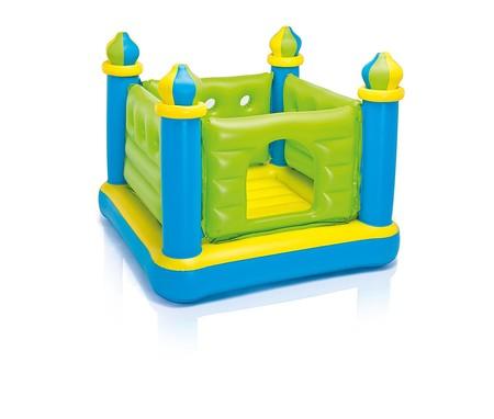 Castillo saltador hinchable con medidas 132 x 132 x 107 cm ahora a la venta en Amazon por 29,25 euros con envío gratis