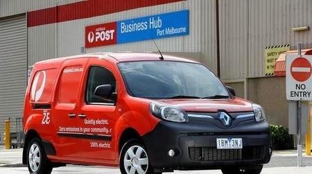 Las Renault Kangoo ZE llegan a Australia de la mano de Correos