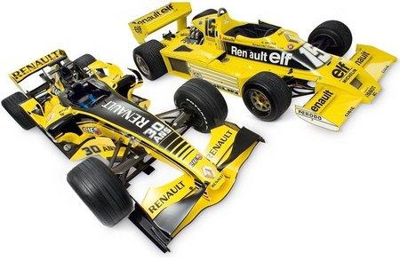 30 años de Renault F1