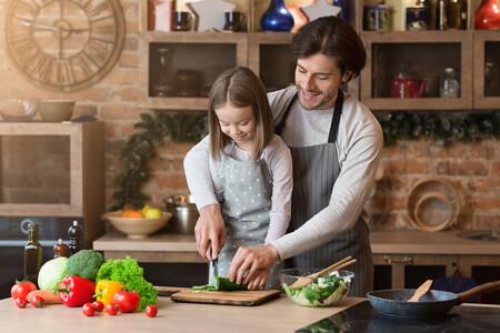 Navidad Padre Cocinando