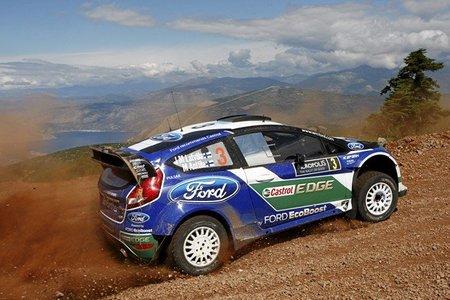 Rally Acrópolis 2012: Jari-Matti Latvala pierde comba por un pinchazo