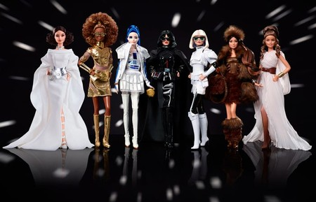 Coleccion Star Wars Barbie