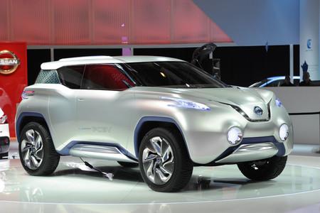 Nissan TeRRa, pila de combustible para un SUV de diseño