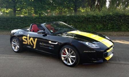 Chris Froome se lleva un Jaguar F-Type por ganar el Tour de Francia