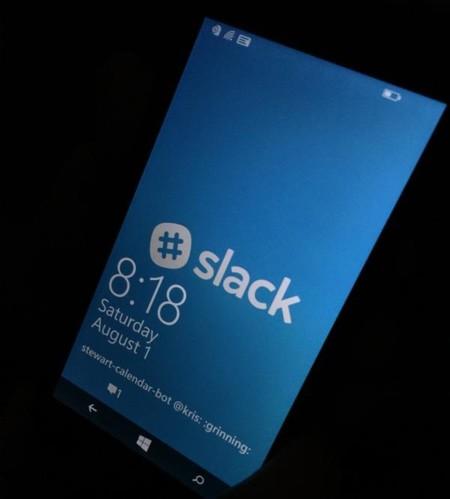 La aplicación de Slack para Windows Phone llegaría pronto al sistema operativo