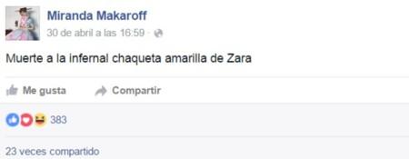 Miranda Makaroff Biker Zara