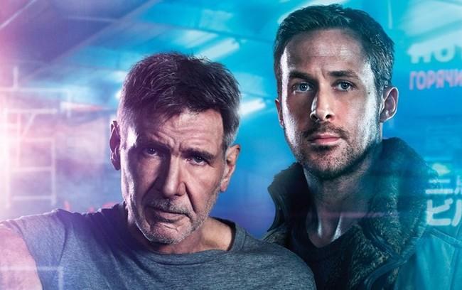 Harrison Ford y Ryan Gosling en Blade Runner 2049