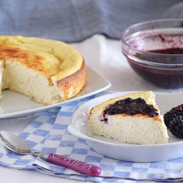 Cheesecake fitness o tarta de queso más ligera: receta saludable para un antojo dulce nutritivo