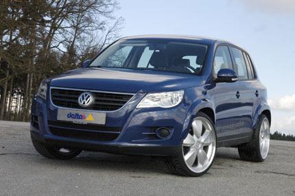 Volkswagen Tiguan por delta4x4, con dos sabores para elegir
